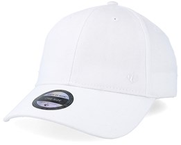 Wolf Baseball Cap White Adjustable - State Of Wow