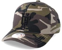 Spinback Baseball Camo/Black Adjustable - Upfront