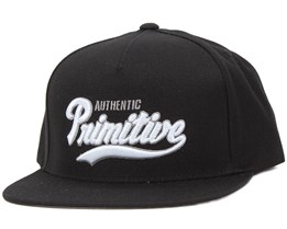 Authentic Black Snapback - Primitive Apparel