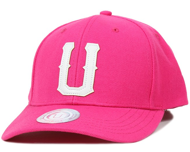 United 2 Baseball Dark Pink Adjustable - Upfront