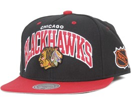 Chicago Blackhawks Team Arch - Mitchell & Ness
