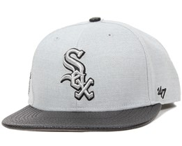Chicago White Sox Riverside Grey Snapback - 47 Brand