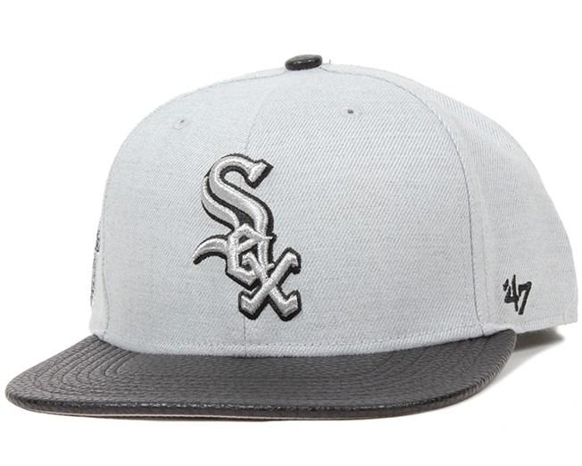 Chicago White Sox Riverside Grey Snapback - 47 Brand