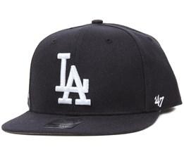 LA Dodgers Sure Shot Navy/White Snapback - 47 Brand