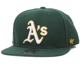 Oakland Athletics Sure Shot Dark Green Snapback - 47 Brand