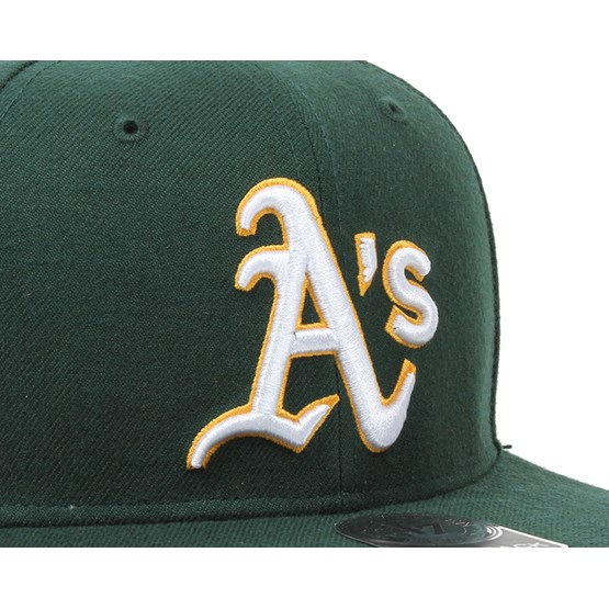 outlet store sale c78b2 64df5 ... release date oakland athletics sure shot dark green snapback 47 brand  caps hatstore 1eac8 a4092