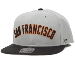 SF Giants Script Side Grey Snapback - 47 Brand