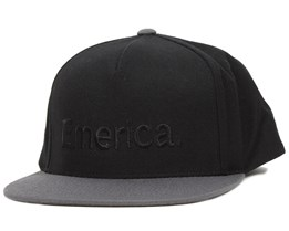 Pure Black Snapback - Emerica