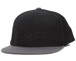 Pure Black Snapback - Emerica