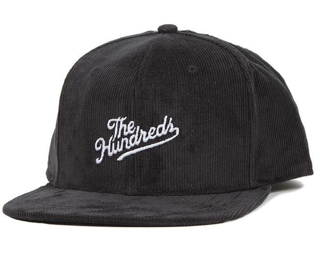 Head Case Black/Charcoal Snapback - The Hundreds