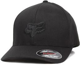 Legacy Black/Black Flexfit - Fox