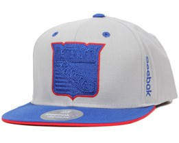 NY Rangers Center Ice Grey Snapback - Reebok