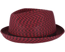 Mannes Garnet Multi Red Fedora - Bailey