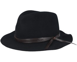 Obie Black Fedora - Bailey