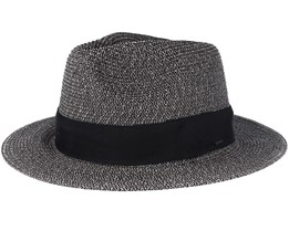 Mullan Black Fedora - Bailey