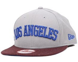 LA Dodgers Heather Archer 9Fifty Snapback - New Era