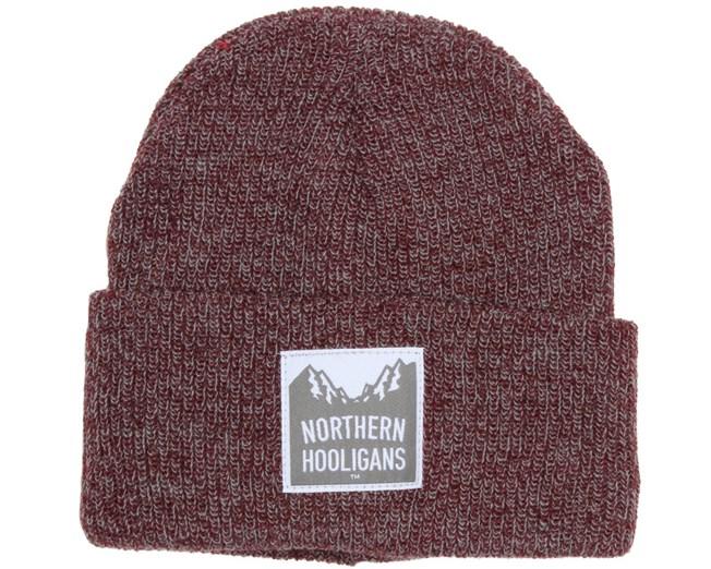 Summit Heather Maroon Beanie - Northen Hooligans