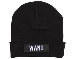 Wang Patch Black Beanie - Les (Art)Ists