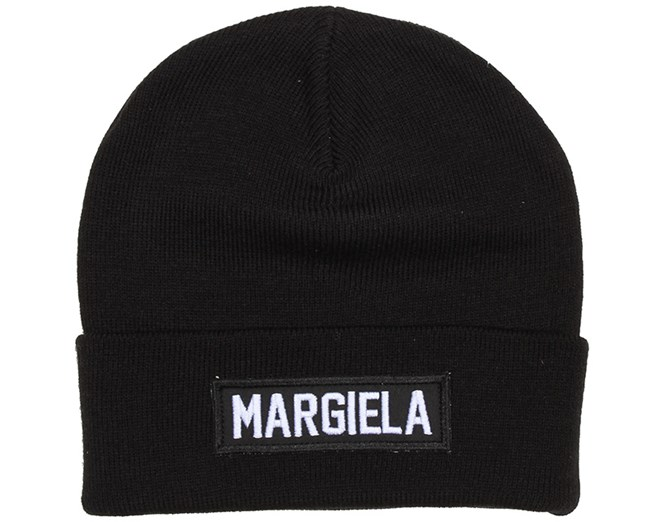 Margiela Patch Black Beanie - Les (Art)Ists