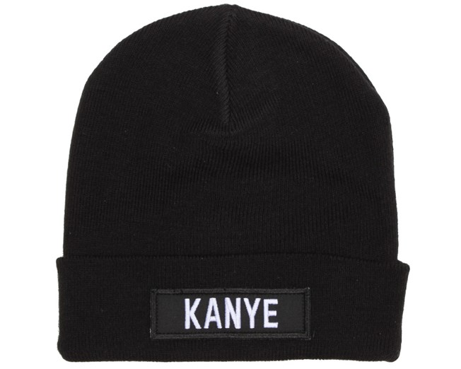 Kanye Patch Black Beanie - Les (Art)Ists