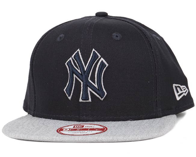 NY Yankees Tonal Fill Black/Navy 9Fifty Snapback - New Era
