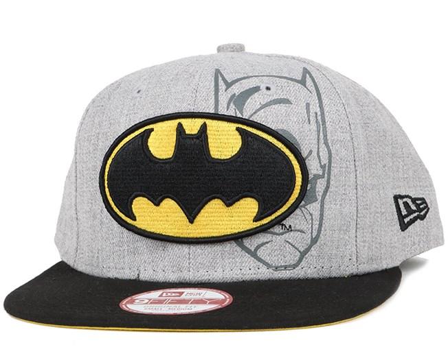 ProductAttribut.cap  från New Era Batman Heather Face 9Fifty Snapback -  New Era dac323f36c