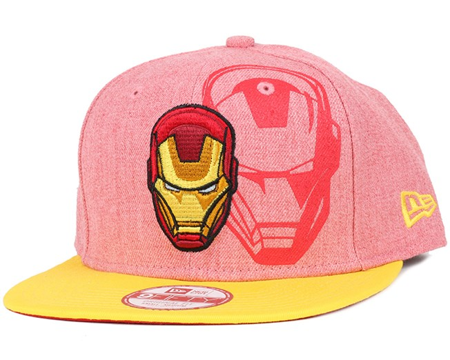Iron Man Heather Face 9Fifty Snapback - New Era