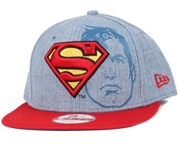 Superman Heather Face 9Fifty Snapback - New Era