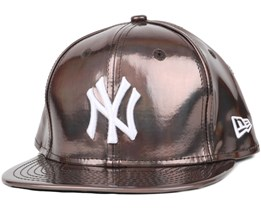 NY Yankees Crown Shine Brown 9Fifty Snapback - New Era