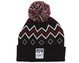 Colour Wear - Heritage Black Beanie