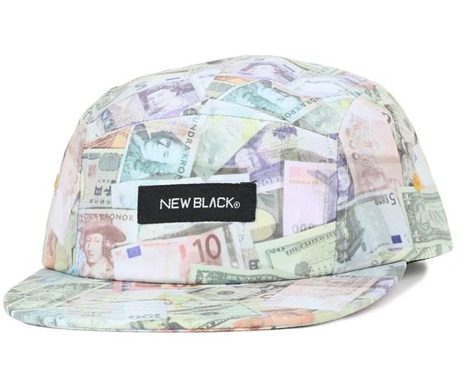 Dinero Money 5-Panel - New Black
