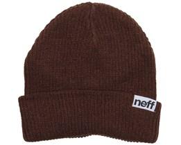 Fold Brown Beanie - Neff