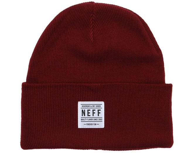 Lawrence Maroon Beanie - Neff