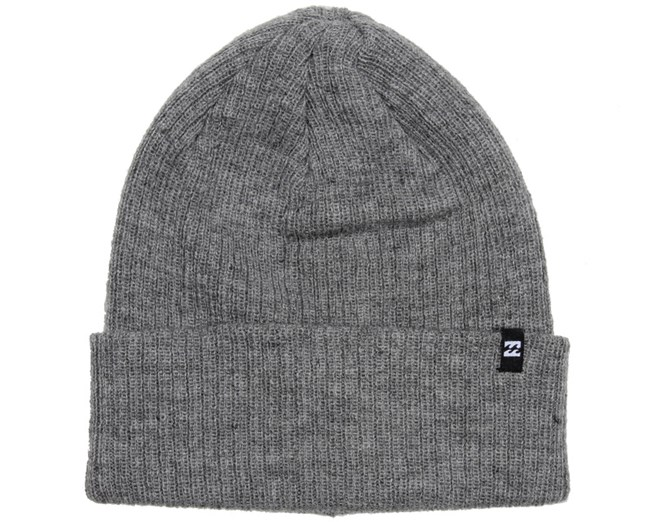 Arcade Light Grey Beanie - Billabong