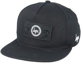 Insignia Black Snapback - Hype