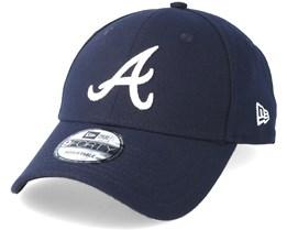 Atlanta Braves The League Navy Adjustable - New Era
