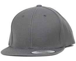 Kids Dark Grey Snapback - Yupoong