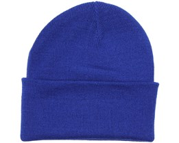 Knitted Beanie Bright Royal - Beanie Basic