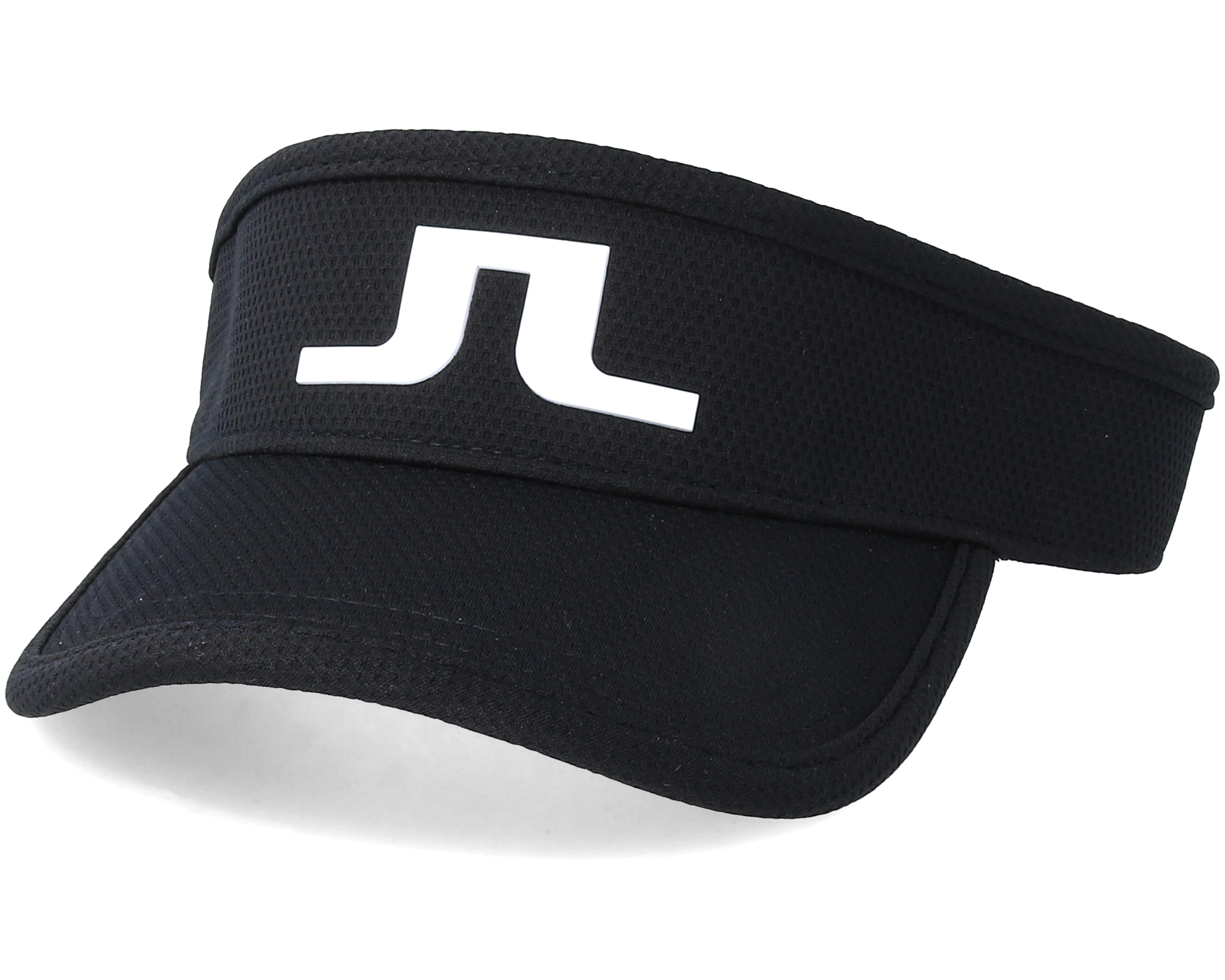 935583093f3 Ian Pro Poly Black Visor - J.Lindeberg caps