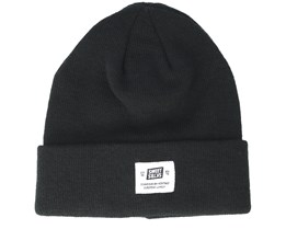 Statton Patch Black Beanie - Sweet