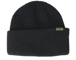 Butter Line Black Beanie - Sweet