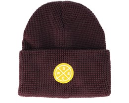 Puncho Patch Red Port Beanie - WeSC