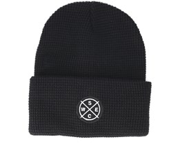 Puncho Patch Black Beanie - WeSC