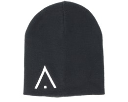Logo Black Beanie - Wear Colour