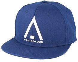 Wear Cap Midnight Blue Snapback - Wear Colour