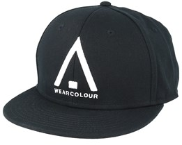 Wear Cap Black Snapback - Wear Colour