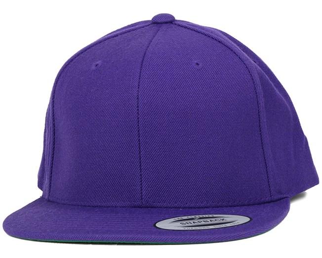 Purple Snapback - Yupoong