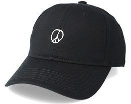Sport Peace Sign Black Adjustable - Dedicated