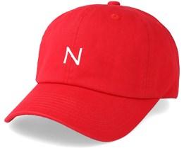 Corduroy Baseball Cap Red Adjustable - New Black