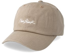 Signature Baseball Cap Khaki Adjustable - New Black